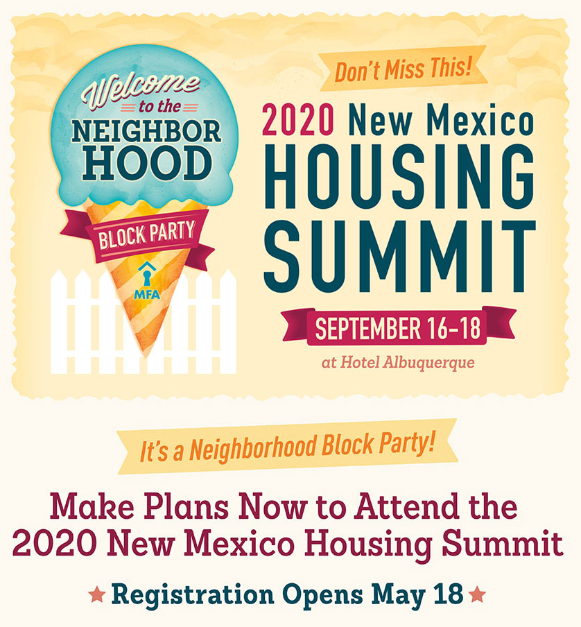 New Mexico Housing Summit - Sept 16-18, 2020 at Hotel Albuquerque